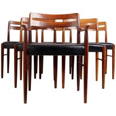 Set of Six Dining Chairs by H W Klein for Bramin