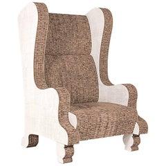Cardboard King Armchair in Recycled Cardboard