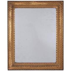Giltwood Ripple Mirror