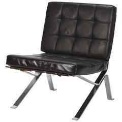 Robert Haussmann Loung Chair RH 301, 1950s
