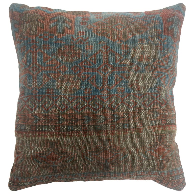 Tribal Rug Pillow For Sale