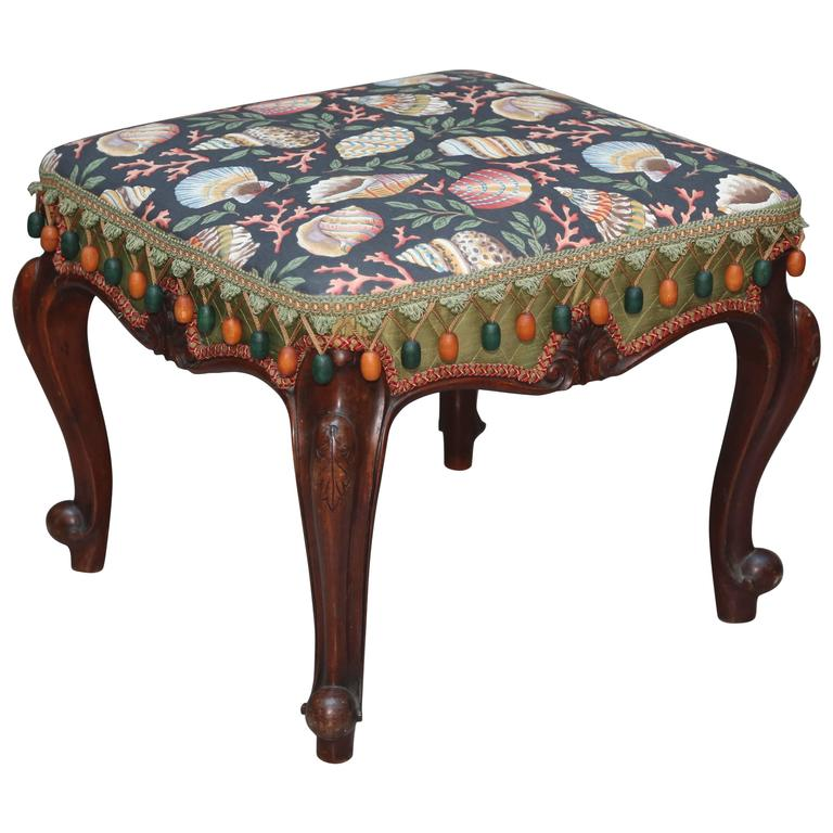 Shell Motif Country French Bench