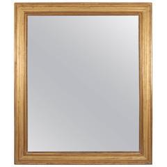Gilt Wood Mirror, French, 19th Century