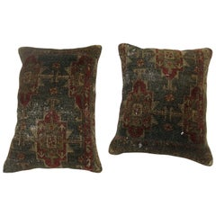 Pair of Shabby Chic Persian Pillows