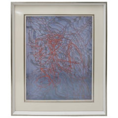 "Lithograph Stanley William Hayter, England, Artist Proof ""Diver"""