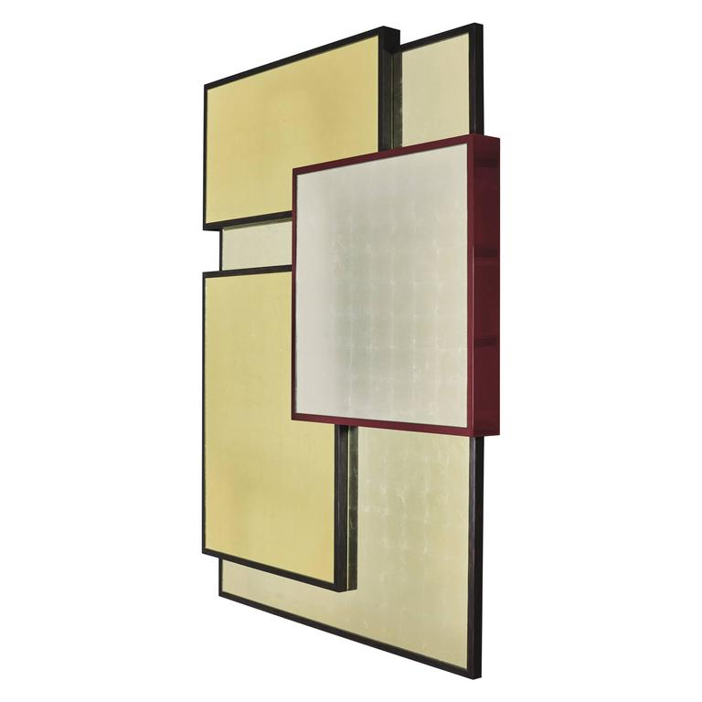"""Kaleidoscope"" Mirror by Hervé Langlais for Galerie Negropontes For Sale"