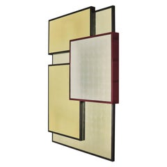 """Kaleidoscope"" Mirror by Hervé Langlais for Galerie Negropontes"