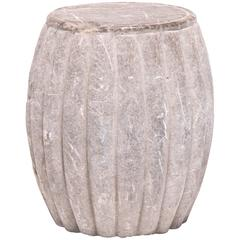 Chinese Melon Form Stool