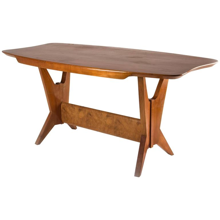 Exquisite Dining Table, Italy, 1940s For Sale