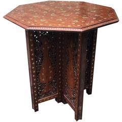 19th Century Anglo Indian Occasional Table