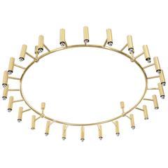 Ferruccio Laviani for Dolce & Gabbana, Chandelier for the Gold Restaurant, Italy