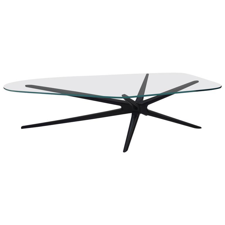 Sputnik Coffee Table Organic Glass, Limited Edition