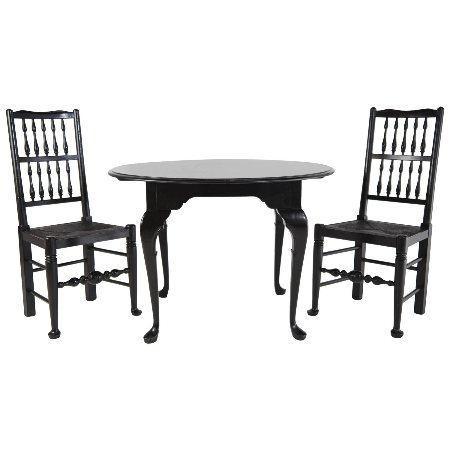 Kittinger Colonial Williamsburg Mahogany Dining Room Table For