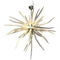 Dramatic Murano Glass Sputnik Chandelier
