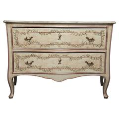 Louis XV Style Painted Commode