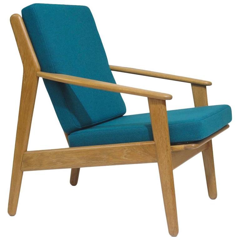 Poul Volther Danish Oak Lounge Chair