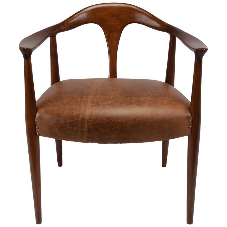 Mid Century Modern Armchairs: Mid-Century Modern Scandinavian Armchair At 1stdibs
