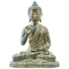 Ming 16th-17th Century Chinese Tibetan Bronze Buddha