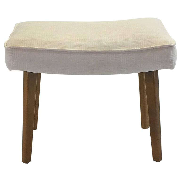 Newly Upholstered Bench Stool by George Nelson for Herman Miller