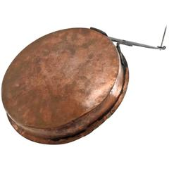 Early 19th Century Antique Copper Jelly Pan from France