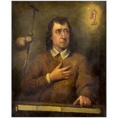 After Pierter Van Der Plas Dutch Portrait of a Gentleman