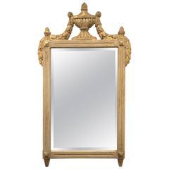 Diminutive Giltwood Neoclassic Mirror