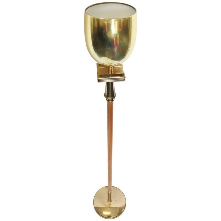 Italian Modern Brass Standing Floor Lamp