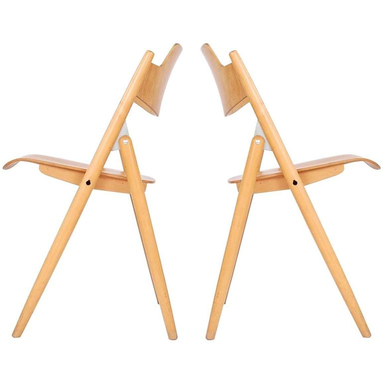 Pair of Egon Eiermann SE-18 Chairs