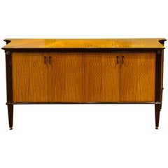 French Modern Style Satinwood Sideboard