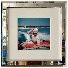 """Slim Aarons Photograph """"Lily Pons"""", 1957, Framed"""
