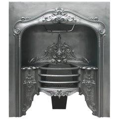 Salvaged Antique William IV Cast Iron Hob Grate