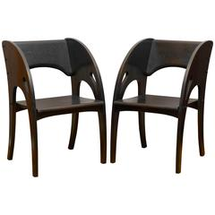 Pair of Armchairs by the Ford and Johnson Chair Company
