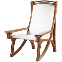 """Abel Landy, La Maison Moderne, Armchair, Model """"Flâneuse N°43"""""""