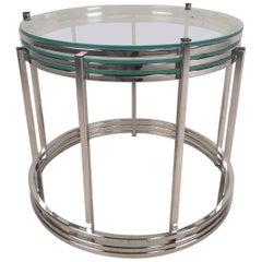 Mid-Century Modern Milo Baughman Style Nesting Tables
