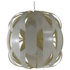 Luna Light Fixture in English Sycamore and Onyx