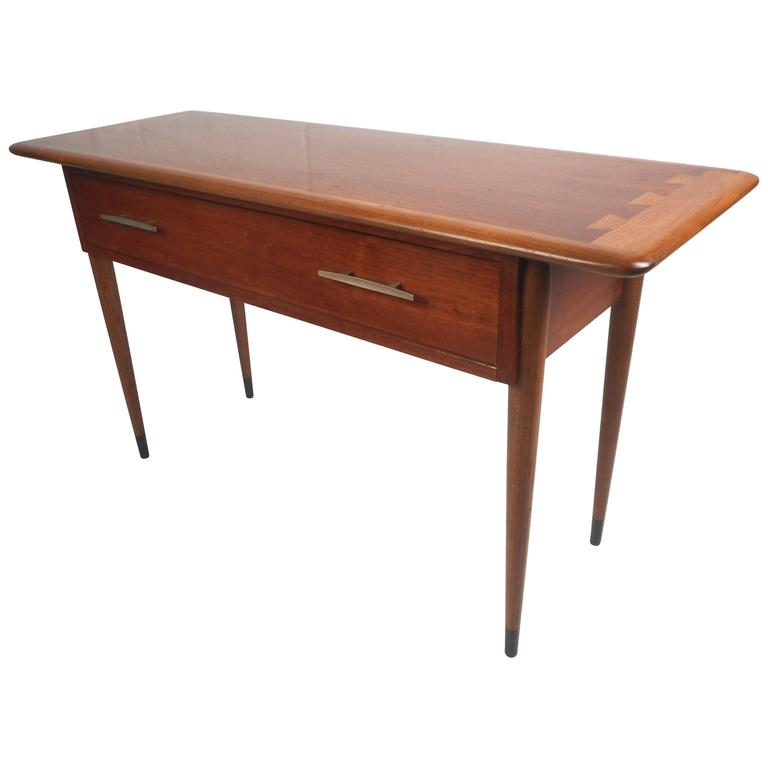 Unique Mid Century Modern Console Table By Lane For Sale At 1stdibs