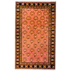 Unusual Mid 20th Century Khotan Rug