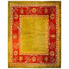 Wonderful Early 20th Century Oushak Rug