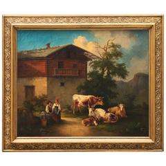 17th Century, Dutch Golden Age Oil Painting by Emanuel Murant