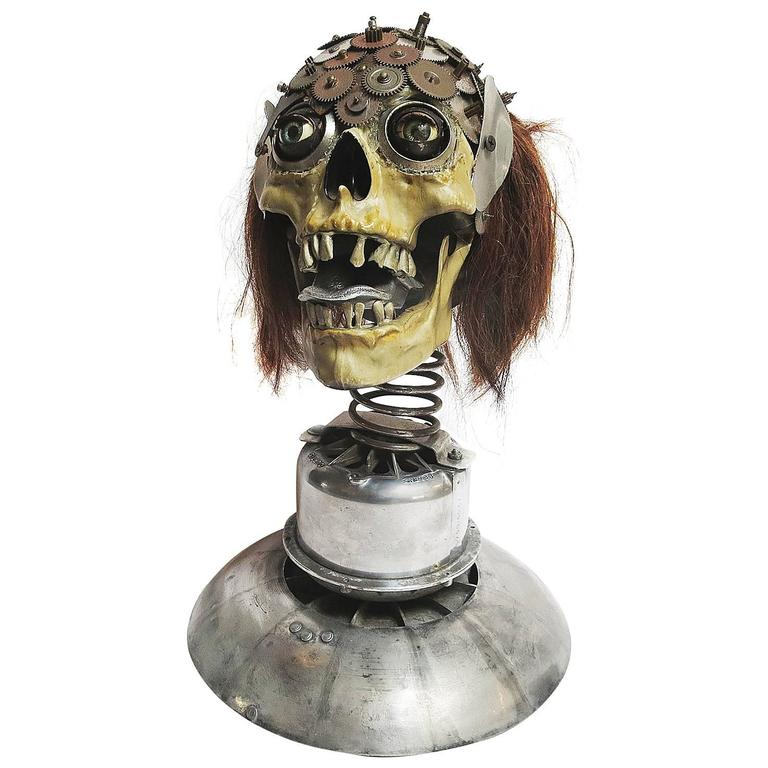 "Baron Margo Lifesize ""Bobbing Head"" Sculpture For Sale"
