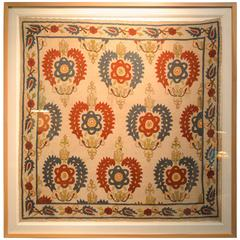 early 19th Century Embroidered Ottoman Textile
