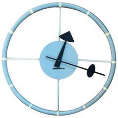 George Nelson Howard Miller Steering Wheel Clock