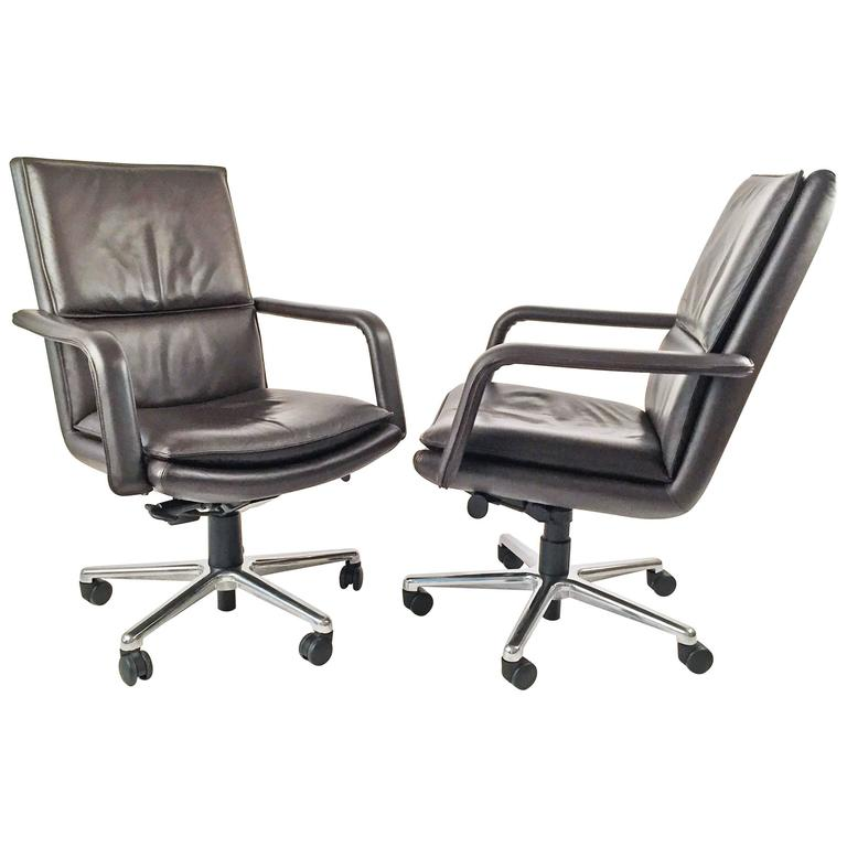 Executive Chairs Pair by Elite 597  Keilhauer  1