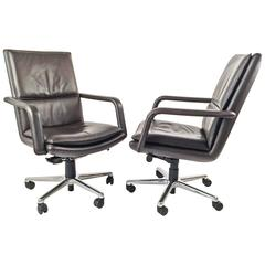 Executive Chairs Pair by Elite 597  Keilhauer
