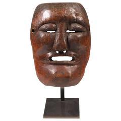 19th Century New Caledonian Kanak Tribal Mask, Melanesia