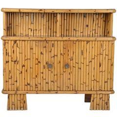 Vintage Bamboo Cabinet, Belgium, 1970
