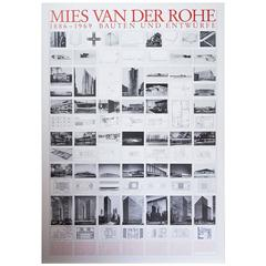Mies Van Der Rohe Bauhaus Buildings and Design 1886-1969 Poster