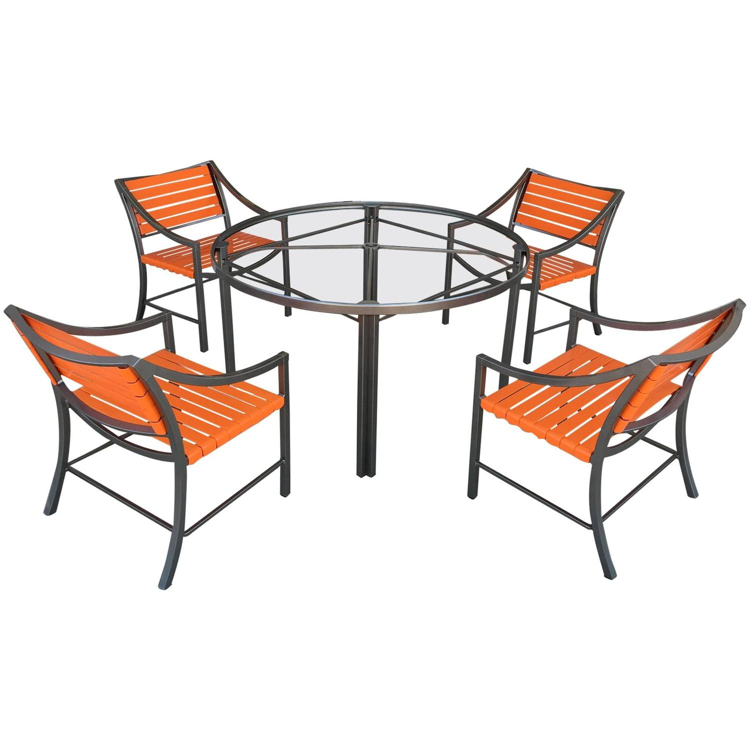 1970s Outdoor Dining Set By Brown Jordan