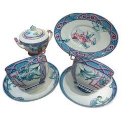 """Hermès """"Le Jardin Des Papillons"""" Tableware Set"""