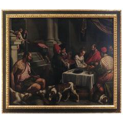 Saint Rocco at a Feast, Bassano Studio, Venice, 16th/17th Century